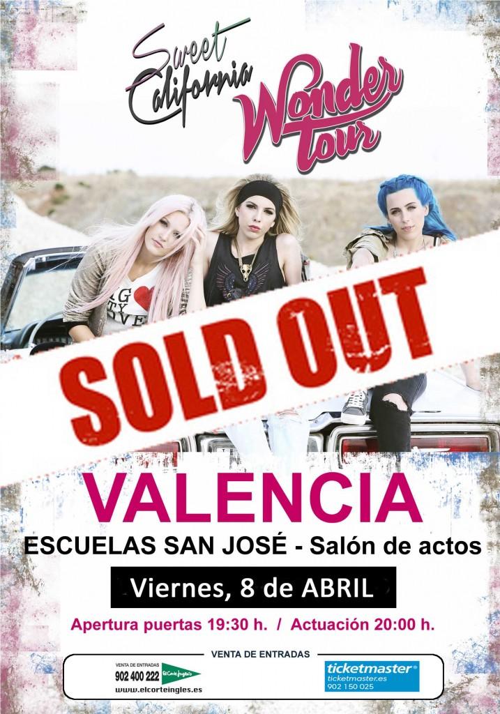 Entradas agotadas en Valencia