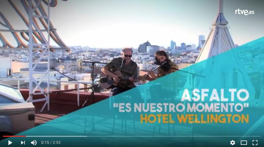 Asfalto en España Directo de TVE