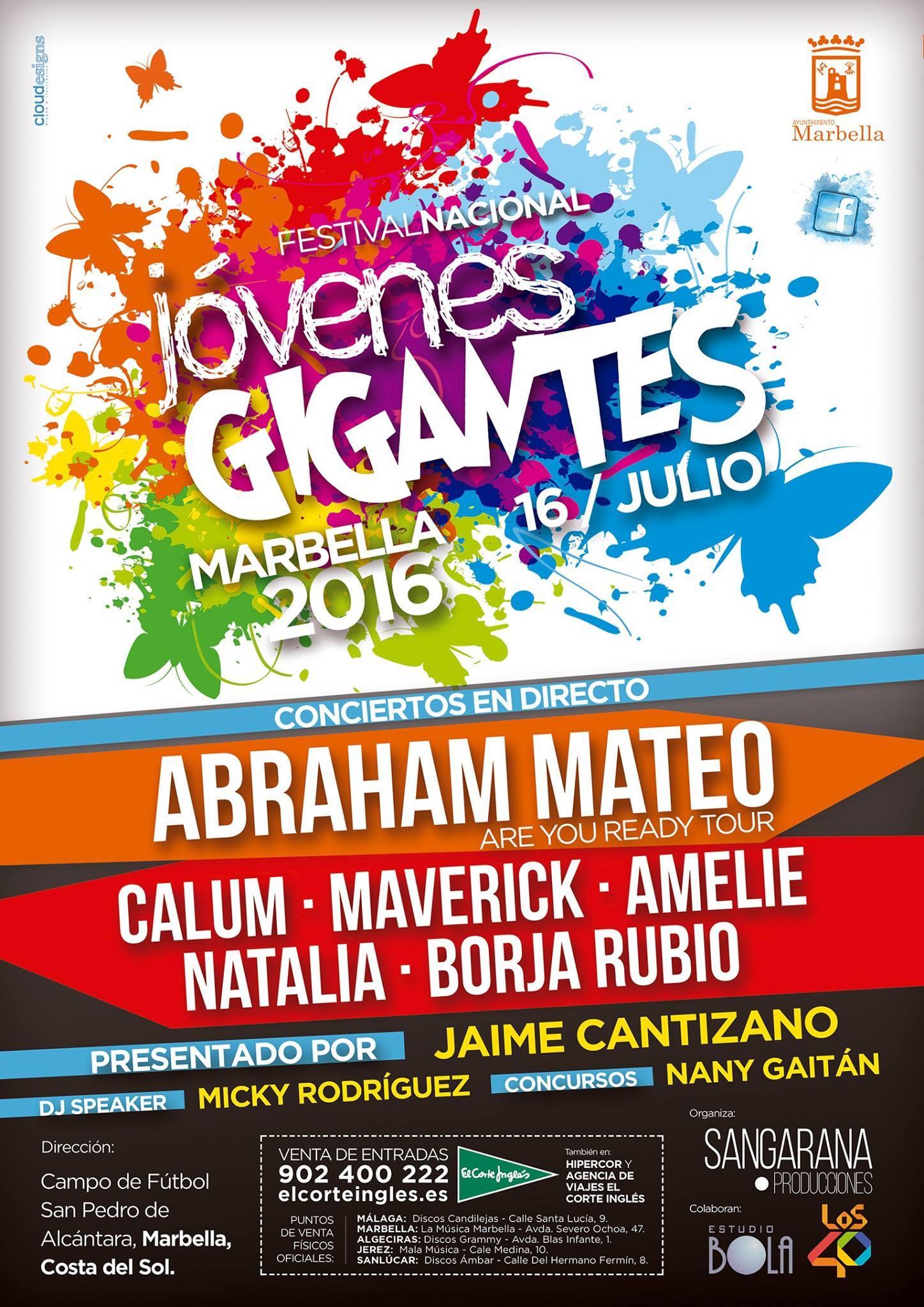 festival Jóvenes Gigantes Amelie