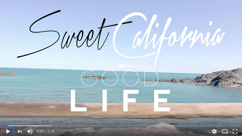 Good Life Sweet California